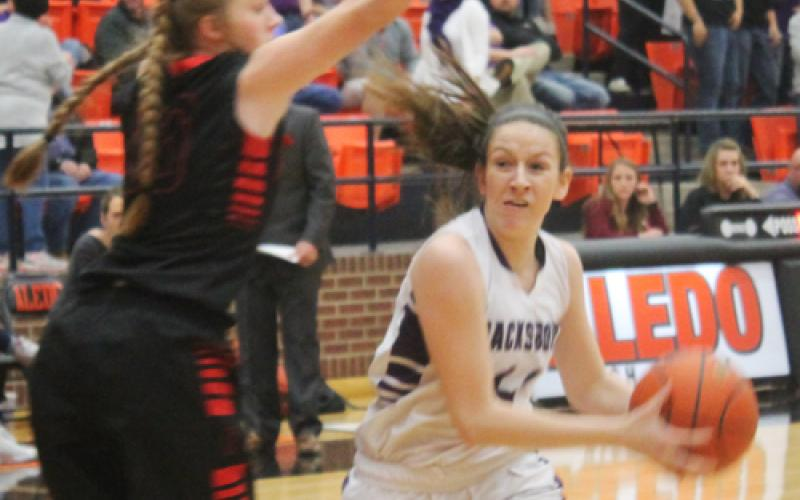 Jacksboro looks to move on in the state girls basketball playoffs