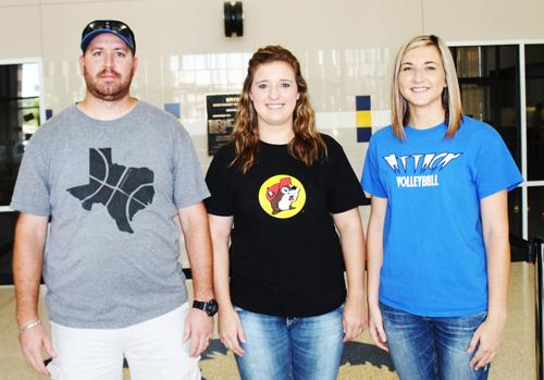 Joe Rackley, Chelsey Wall andChelsea Kincaid will all be coaching Bryson varsity sports as newcomers this Fall.