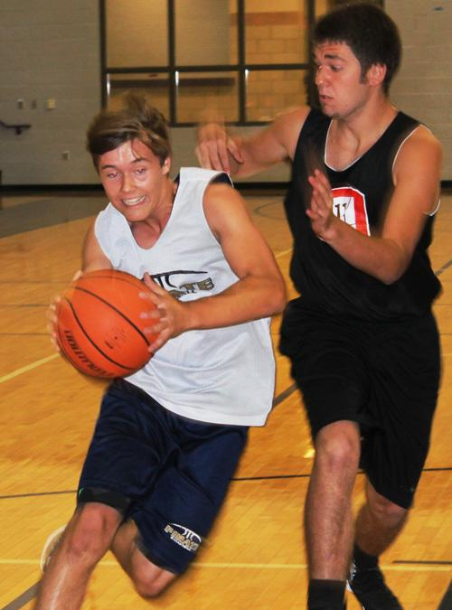 Hunter FRancis led Perrin with eight points in a loss to Olney June 9.