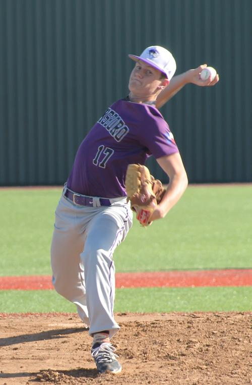 Jacksboro's Ty Kennedy tossed two shutout innings in helping the Tigers end the season with a 7-6 win over Paradise.