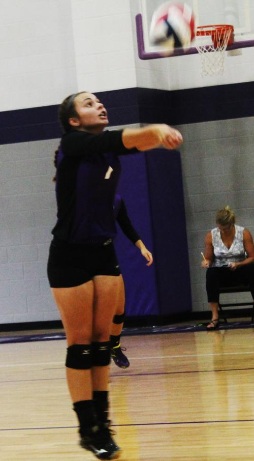 Carly Hart makes a return during Tuesday's win over Bryson