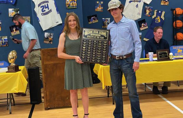 Bryson athletes awarded for success