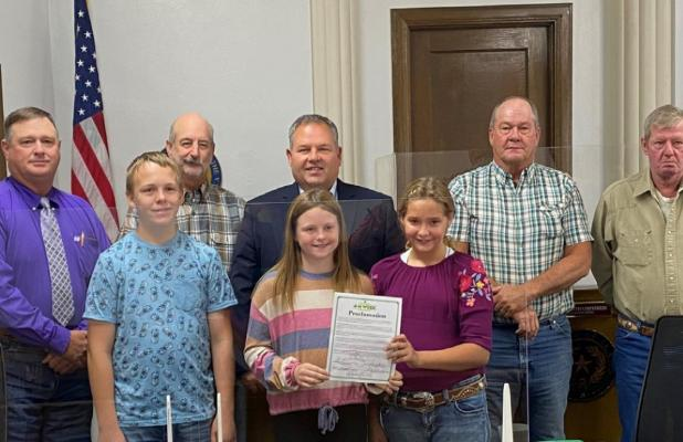 County proclaims Oct. 4-10 4-H Week