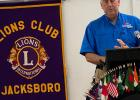 Mangum gives Lions update on Twin Lakes work
