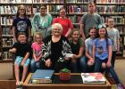 4-H donation to library