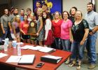 The Bryson ISD Board of Trustees recognized the One Act Play students at its meeting this week.