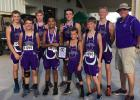 JMS boys XC team completed a perfect season with a win in the District 8-3A Meet