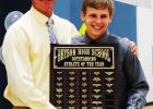 Trey Foy was selected as the Outstanding Male Athlete of the Year by Bryson coaches.